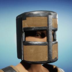 cardboard helm male