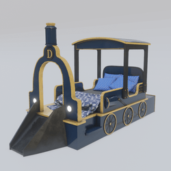 Train Bed
