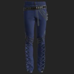 YANO PANTS BLUE