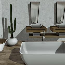 Bathroom White Point