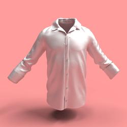 Shirt B-White male