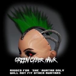 Cyber Hawk (green)