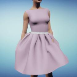 Cute Pink Ballerina Dress