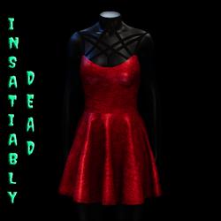 Magica Skater Dress [RED]