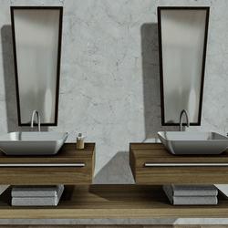 Bathroom Sink White Point