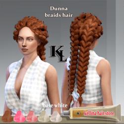 Dunna braids hair