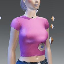 Spring'21 Pink T-Shirt - Female