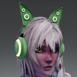 Anubis headphones GRN
