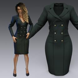 Elagant Office Dress
