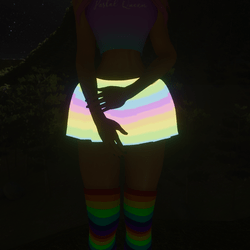 Pastel Rainbow Skirt (Animated) (Cotton Candy Dreams)