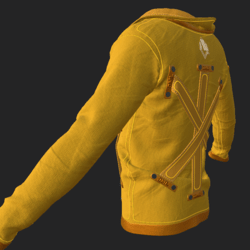 SHUAN JACKET EMISSIVE YELLOW