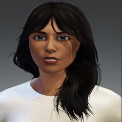 Hair Sandy Black