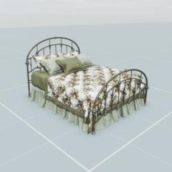 Antique Bed 2.1