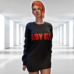 ✿ Baby Girl Sweater Mini Dress ✿