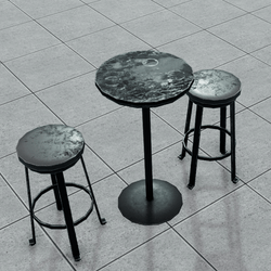Bar Table and Stool Set | Nightclub