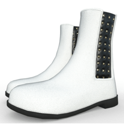 Jensen ankle boots for woman White