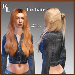 Liz hair -base blonde