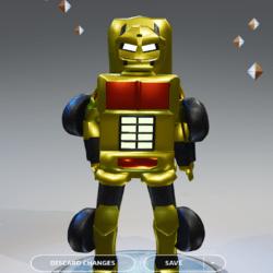 FG Transformer  Yellow