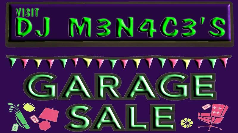 DJ's Garage Sale