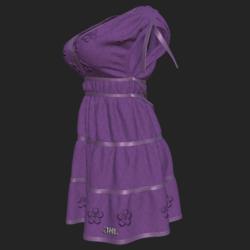 DROMA DRESS VIOLET