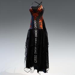 Halloween witch dress - demo