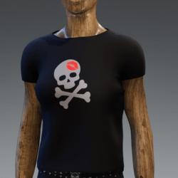 Crimson Kiss o death shirt