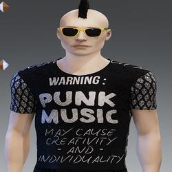[INTOXICATED] Mens shirt Punk music