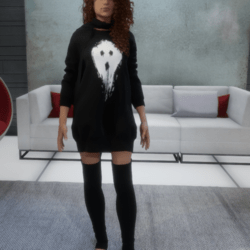 Halloween Dress - Ghost