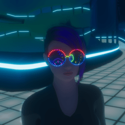 UNISEX_ PARTY_ GLASSES_  ANIMATED EMISSIVE
