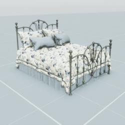 Antique Bed 4.2