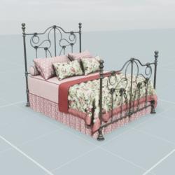 Antique Bed 5.2