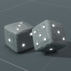 Stone Dice with Sound