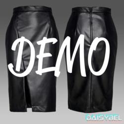 Leather Skirt DEMO