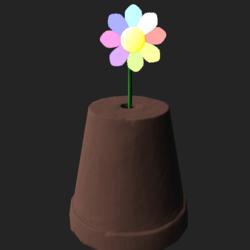 Flower Pot Hat