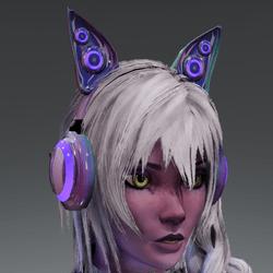 Anubis headphones HOLO-01L