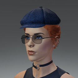 TKA Bue cap and hair collected