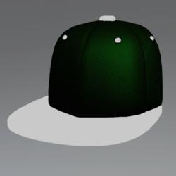 GlowCap GreenWht [MALE]
