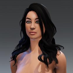 Carly - Young Glamorous Female Avatar