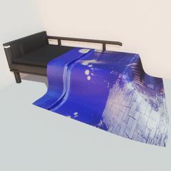 Modern bed - night