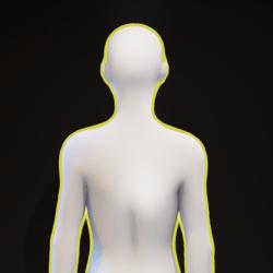 Yellow Glowing Aura F