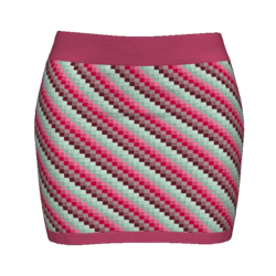 Woman Simple Skirt - Quads