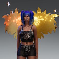 Firework Wings