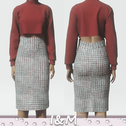 wool pencil skirt 3