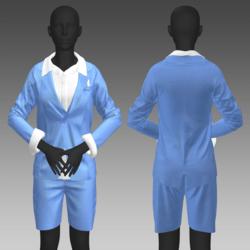 SXR Blue Suit Female