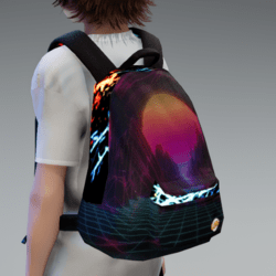 Synthwave Backpack