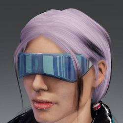 Saiborgu glasses - vint blue