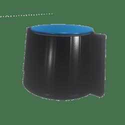 Blue-topped Knob