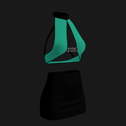 Leera Clubbing Outfit (Ocean Green)