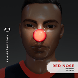 Red Nose (Animated) for Male
