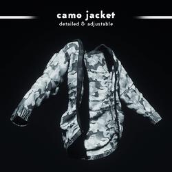 Camouflage Jacket (Ivory)